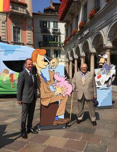 Serge Dal Busco et Cornélio Sommaruga à Lugano