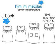 Bluse/Kleid Gr. 86-134