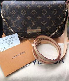 Louis Vuitton Favorite MM Monogram Bag Crossbody  fashion  clothing  shoes   accessories   b81b7fbb927e