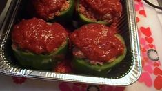 http://www.noreenskitchen.com Greetings! When I saw that peppers were on sale I decided that I would make some stuffed peppers for dinner. I have not made th...