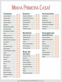Lista de Chá de Casa Nova – As 30 Ideias Mais Completas para Imprimir!