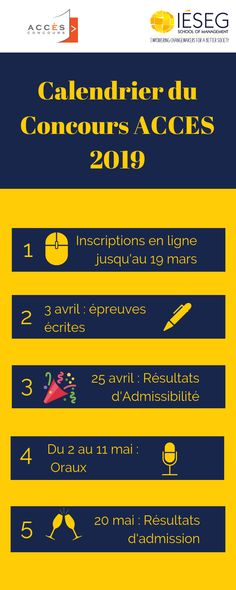 Calendrier Academique Ieseg.Our Infographics