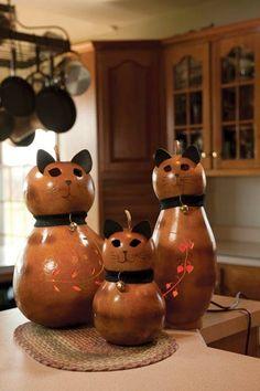 cute cute...made from gourds