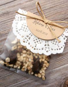 Sachet de graines à semer – Mon faire-part est unique – Créatrice de faire-part et papeterie décorative