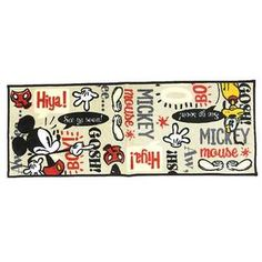 Mickey Mouse Kitchen Floor Mat