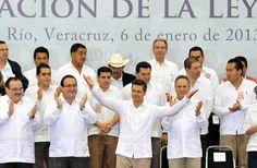 Mexico Agradece Enrique Peña Nieto solidaridad y respaldo de Veracruz al Proyecto de Nación