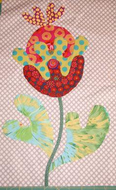 FOLK ART FLOWER - Flower Garden