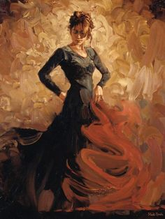 dancers painting | ... dancer paintings online on course & I found this lovely painting at