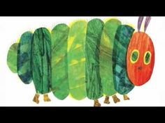 "Students can listen to author, Eric Carle read his award-winning book, ""A Very Hungry Caterpillar"""