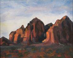 Original Oil Painting Plein Air 6x8 Framed Sedona Southwest Art NEW Sedona  #Impressionism