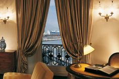 Room, Excelsior Hotel, Naples Excelsior Hotel, Naples, Hotels And Resorts, Curtains, Room, Home Decor, Bedroom, Blinds, Decoration Home