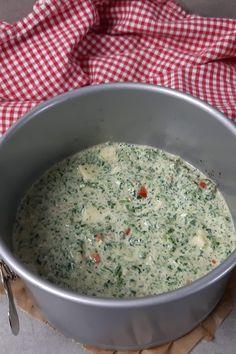 Sophia Thiel leichte Spinat-Feta-Quiche - einfach Schlank & Fit Oatmeal, Cooking, Breakfast, Food, Spinach Feta Quiche, Bircher Muesli, Easy Meals, The Oatmeal, Kitchen