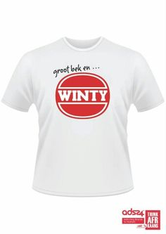 Afrikaans Funny Shirts, Cool T Shirts, Im Jealous, Afrikaans, True Words, Slogan, Printed Shirts, Onesies, Wimpy
