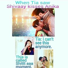 Shitia moment....  No sorry mistaken...that is Shit Aaa moment ... Pc @ishqbaazslays loved that troll n Actually all trolls made by you... #ishqbaaaz #trolls #shivika