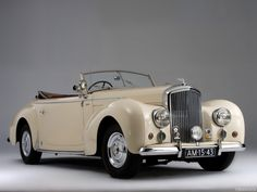 1948 Bentley Mark VI Drophead Coupe #vintagecars