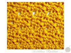 Splot Ścisły: Bryza / Textured Stitch: Breeze