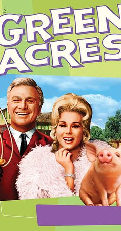 Created by Jay Sommers.  With Eddie Albert, Eva Gabor, Tom Lester, Pat Buttram. A New York City attorney and his wife attempt to live as genteel farmers in the bizarre community of Hooterville.