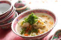 白ねり胡麻で作る中華風胡麻スープ|レシピブログ