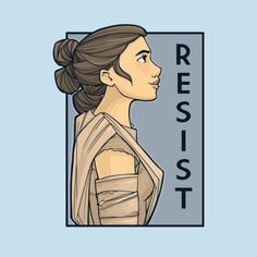 Strong Female Series - Created by Karen HallionT-shirts, prints, stickers and more available at her TeePublic Shop. Star Wars Love, Star Wars Girls, Rey Star Wars, Star Wars Art, Tableau Star Wars, Ethiopian Beauty, Star Wars Stickers, Sidewalk Chalk Art, Aesthetic Drawing
