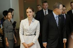 The Most Important Words in Emma Watson's Speech Were About Masculinity: Emma Watson at the launch of the HeForShe UN campaign for gender equality.