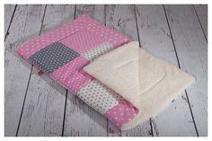 Namenskissen & Decken - Patchworkdecke Babydecke  - ein Designerstück von mimo-bambino bei DaWanda
