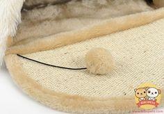 fine HOOPET Cat Nest Sleeping Bag Scratch Board Toy Pet Supplies Mat House #