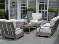 American summer terrace                              GL6 - Louise del Balzo Garden Design
