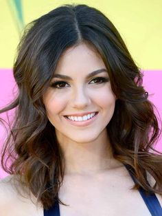 Wedding hair/makeup (Victoria Justice - Kids Choice Awards 2013)