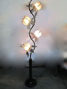 Vintage Lotus Floor Lamp Mid Century Mordern Lamp Table