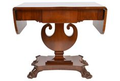 Swedish Biedermeier Pedestal Table
