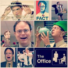 Dwight Schrute from The Office.