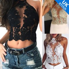 abd4c375b49 Tops   Shirts Ladies Mesh Overlay Gold Line Embroidery Lace Cuffs With  Zipper Back Crop Top
