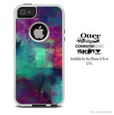 The Abstract Oil Painting V3 Skin For The iPhone by TheSkinDudes