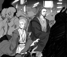 Star Wars, Qui-Gon, Obi-Wan