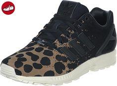 adidas Damen Zx Flux W Sneakers, Leopard/Noir, 40 EU - Adidas sneaker