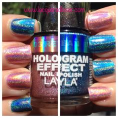 "Layla holographic ""Carly Manicure"""