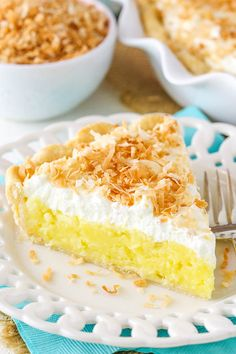 This Coconut Cream Pie is made with a coconut custard filling and a coconut whipped cream, all topped with toasted coconut! It's a classic pie that is wonderfully delicious! So pie is something I've developed more of a love and appreciation for in recent years. I grew up eating plenty of cake, cupcakes and ice …
