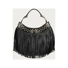 Alexander McQueen purse   alexander mcqueen black fringe bag - Avenue7 - Express your fashion