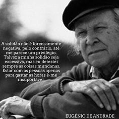 Eugénio de Andrade | Poema: Words, Poems