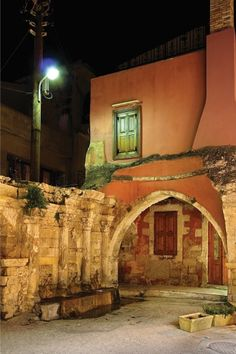 house in Rethymno, Crete