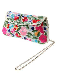 MERCURYDUO (Mercury Duo) mail order | flower embroidery clutch
