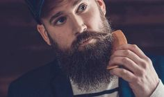 The Ultimate Guide on How to Trim a Beard with scissors, clippers and/or trimmers. Find information on how to trim a perfect beard for your face shape. Best Beard Comb, Beard Neckline, Trimming Your Beard, Red Quinceanera Dresses, Shaved Undercut, Perfect Beard, Long Beards, Beard Grooming, Awesome Beards