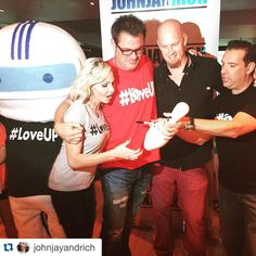 """Wow...what a moment! @johnjayandrich took 200 Kids in Foster Care for food and bowling at #luckystrikebowling.  With a generous Donation from…"""