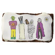 Monsters Halloween Party Brownie