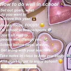 Going back to school in less than a week, I'm very exited but nervous at the same time. I want to stay on track this year and not fall back into old habits! Back To School Highschool, I Love School, School Sets, Going Back To School, School Life, School Stuff, High School Quotes, Back To School Essentials, Hoe Tips
