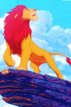 Simba - the lion king - disney wallpaper