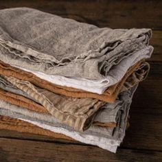 Luxurious European Linen Bedding & Linen Sheets | Hale Mercantile Co. Linen Tablecloth, Linen Napkins, Table Linens, Sofa Throw Cover, Throw Pillows, Bedding Shop, Linen Bedding, Boho Inspiration, Linen Sheets