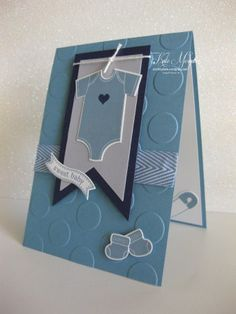 Something for Baby – Kate Morgan, Independent Stampin Up! Moldes Para Baby Shower, Baby Shower Invitaciones, Baby Accessoires, Shower Bebe, New Baby Cards, Stamping Up Cards, Baby Kind, Baby Baby, Card Tags