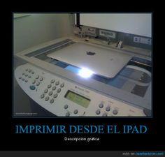 IMPRIMIR DESDE EL IPAD - Descripción gráfica