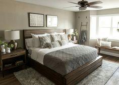 Magnolia bedroom at Texas house